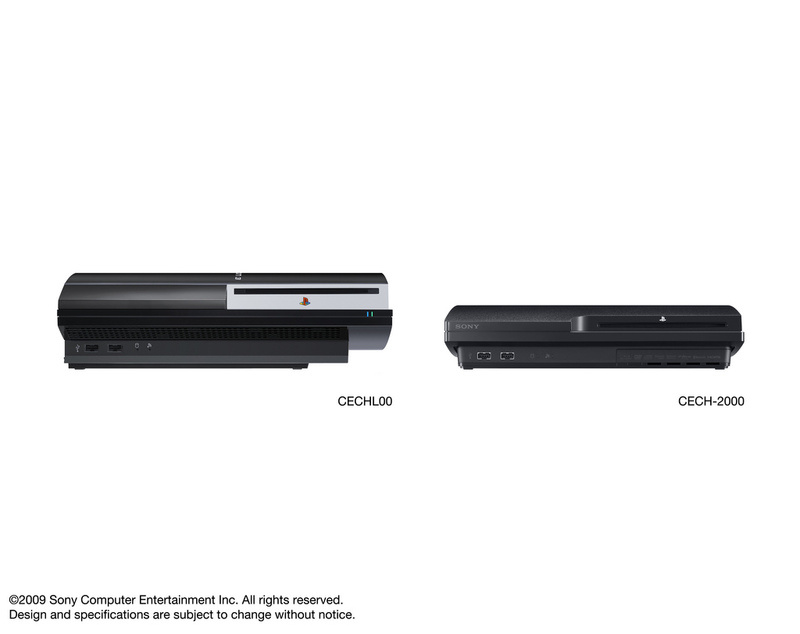 Old PS3 vs PS3 Slim