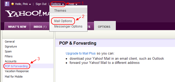 how to download yahoo mail